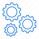 gear, options, setting, settings, tools icon