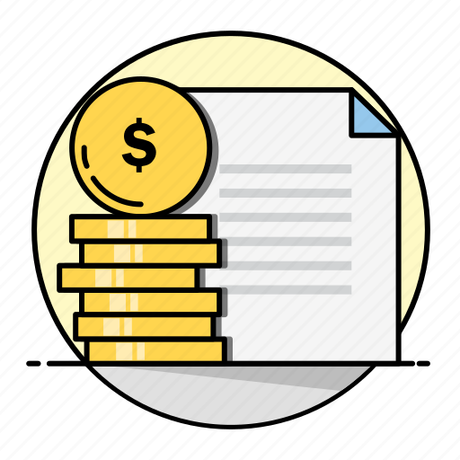 business, dollar, finance, financial, insurance, money, rounded icon
