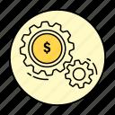 business, money, rounded, work, cash, dollar, finance