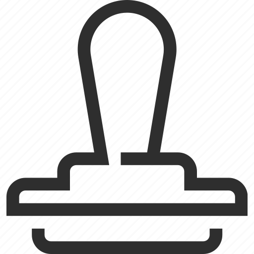 business, ecommerce, finance, stamp icon