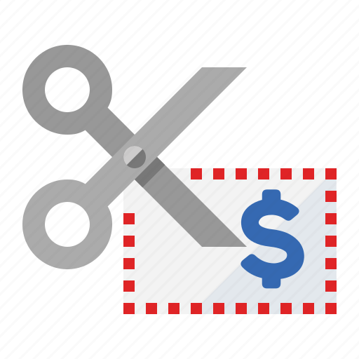 bargain, clipping, coupon, discount, price cut, rebate, sale icon