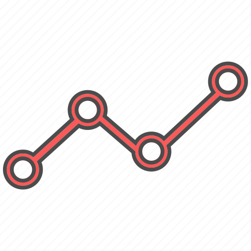 connect, graph, status icon
