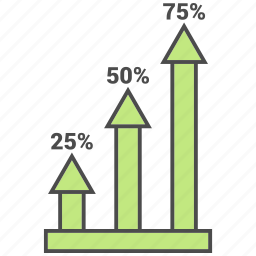 growth, office, scale, schedule icon
