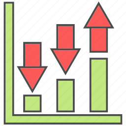 career growth, profile status, progress, progress diagram, promotion icon
