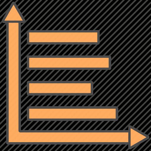 graph, line, revenue, stats, trends icon