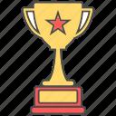 achievement, award, trophy