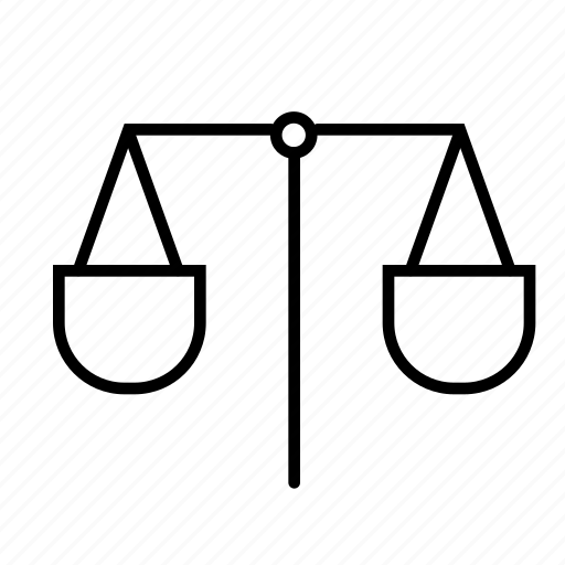 balance, judge, justice, law, laws, scale, weight icon