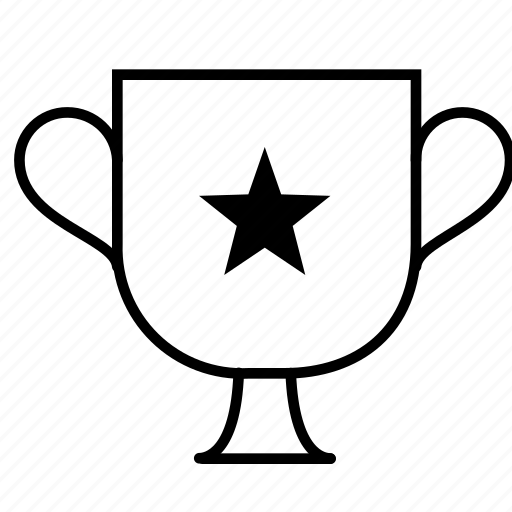 award, champion, cup, prize, star, trophy, winner icon