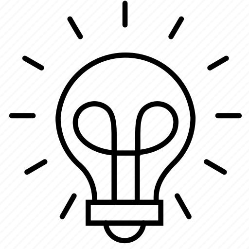 brainstorm, business, finance, idea, lightbulb, strategy, think icon