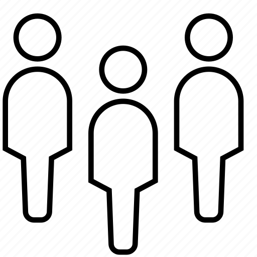 business people, employee, group, networking, people, team, worker icon