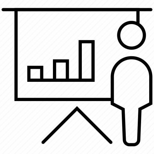 business, chart, diagram, finances, graphic, presentation, statistics icon