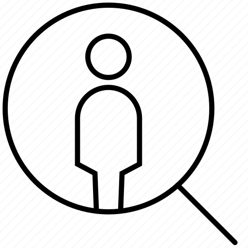 businessman, people, person, profile, search, searching, user icon