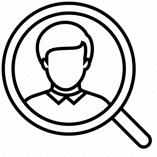 business, businessman, finance, person, search, searching, user icon