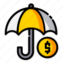 currency, finance, money, save icon