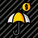 business, finance, investation, money icon