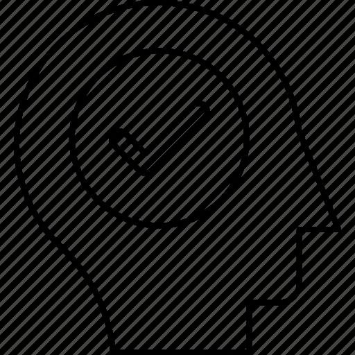 check, complete, mark, tick icon