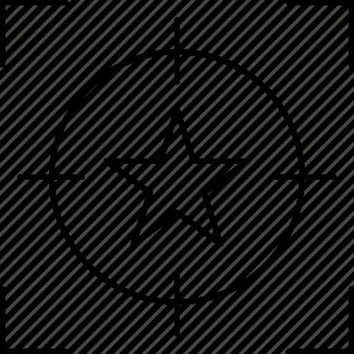feedback, focus, rating, target icon