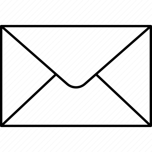 envelope, inbox, mail, message icon