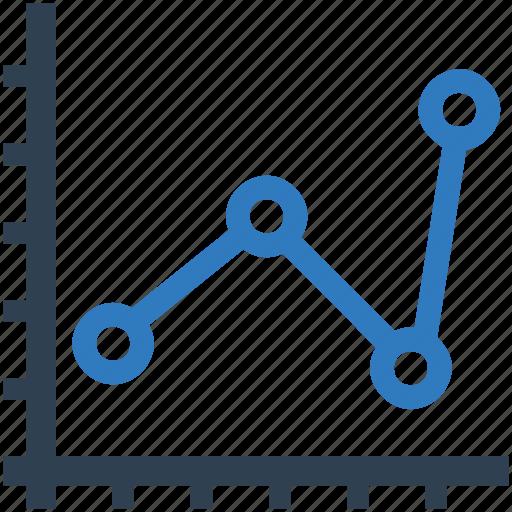 analysis, analytics, business growth, finance, graph, statistics, stock market icon