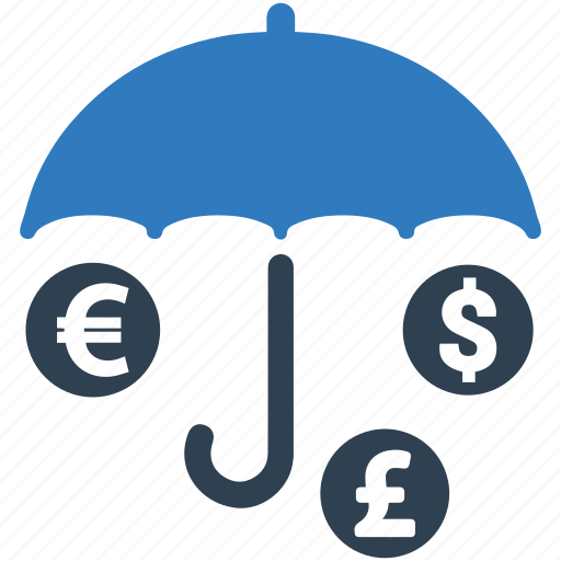 insurance, investment, money, protection icon