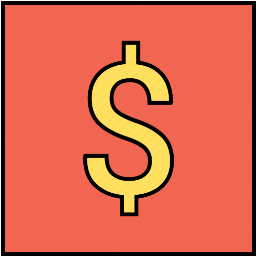 coin, currency, dollar, sign icon