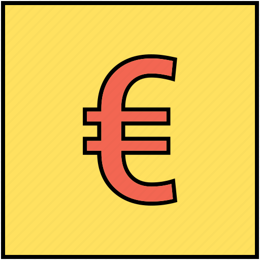 currency, euro, euro sign, money, money sign icon