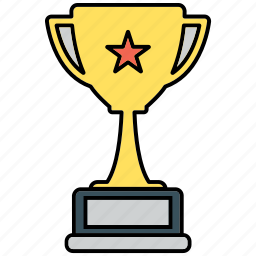 achievement, award, trophy icon