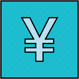 currency, japanese, money, sign, yen, yu icon