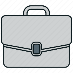 bag, case, office, office bag, portfolio icon