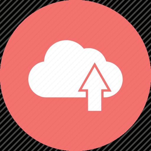 cloud, data, transfer icon