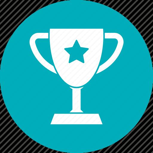 cup, education, prize, school icon