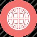 data, earth, globe, internet icon