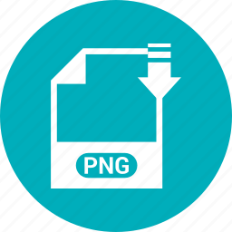 extension, file, format, png file icon