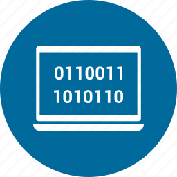 code, computer, device, laptop, laptop computer, pc icon