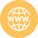 earth, global, globe, international, internet, world, www icon