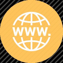 earth, global, globe, international, internet, world, www icon
