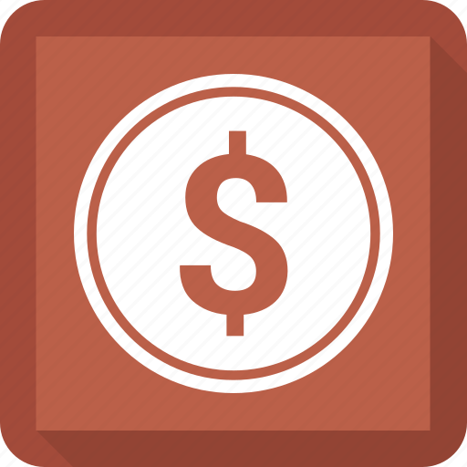 business, coin, dollar, finance, marketing icon