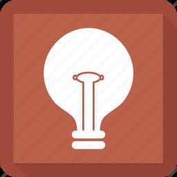 bulb, idea, light, lightbulb icon