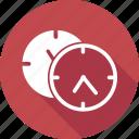 clock, eleven o' clock icon