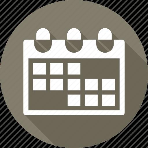 calendar, deadling, event, milestones icon