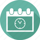 calendar, clock, deadling, event, milestones icon