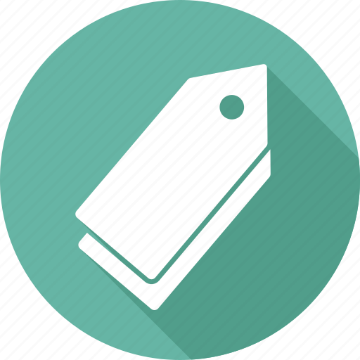 category, label, price, tag icon