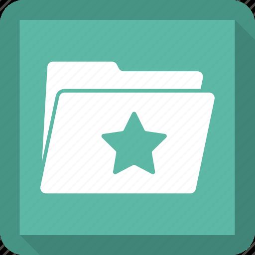 data, doc, folder, open, star icon