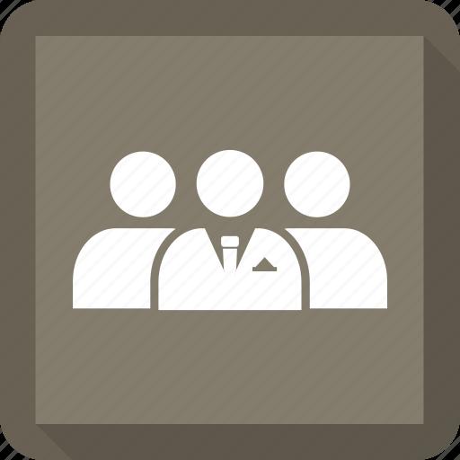 businessman, circle, cycle, employee, team, work icon