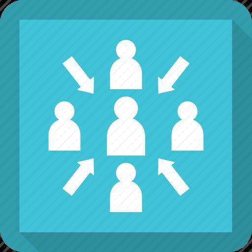 business, people, success, team, teamwork icon