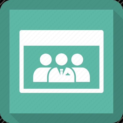 man, teamwork, webpage icon