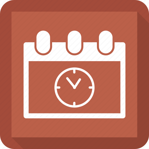 appointment, calendar, clock, schedule icon
