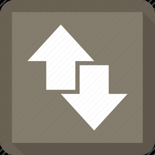 circle, data, down, up icon