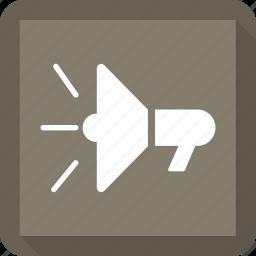 loud, sound, speaker icon