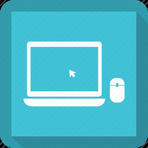 click, computer, laptop, pc icon